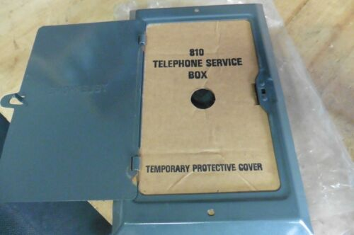 Western electric bell telephone subset service box 810 metal new