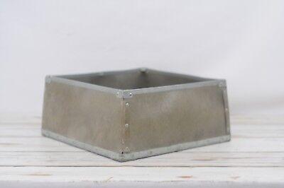 Industrial Metal / Fiberglass Box Vintage Box Vulcanized Fibre Box K2