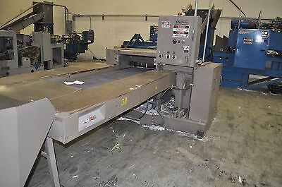 Allegheny Aps 5000 Industrial 50hp Paper Shredder Input Output Conveyor