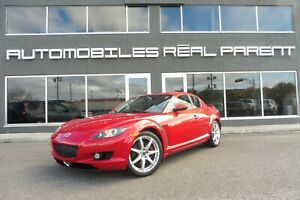 2007 Mazda RX-8 SPEED EDITION -CUIR - TOIT - BOSE  - 98 502 KM -