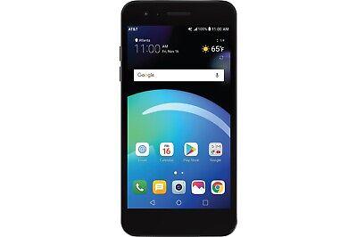 "Inbox Preowned LG Phoenix 4 LM-X210APM AT&T GSM Unlocked 5"" 16GB 8MP Android 7.1"