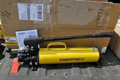 Enerpac P-84 Ultima Hydraulic Hand Pump Double Acting 3500psi 4 Way Valve New