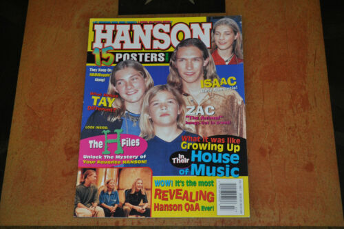 Hanson Featured In Hit Sensations Magazine Posters! #2