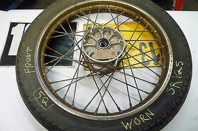 <em>YAMAHA</em> SR125 BREAKING    FRONT WHEEL   WEB STOCKA SKCON C YELLO