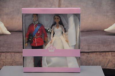 Princess Catherine Kate Middleton HRH Prince William Arklu Doll Dolls 2010 BNB