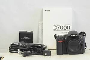 Nikon D7000 DSLR body - like new condition Burwood Burwood Area Preview