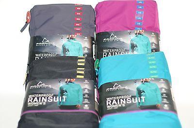 Womens Paradox 2 5 Beyond Limits Waterproof Rainsuit Jacket Pants Rain Gear Set