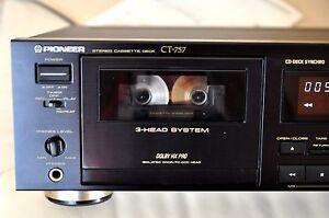 Pioneer-CT-gama-alta-3-Head-cassette-Tape-Deck-pletina-de-casete-tapedecks-cinta