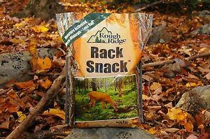 Deer Attractant, Supplement, Mineral, Feed, Rough Ridge Rack Snack 8lb LESS SALT