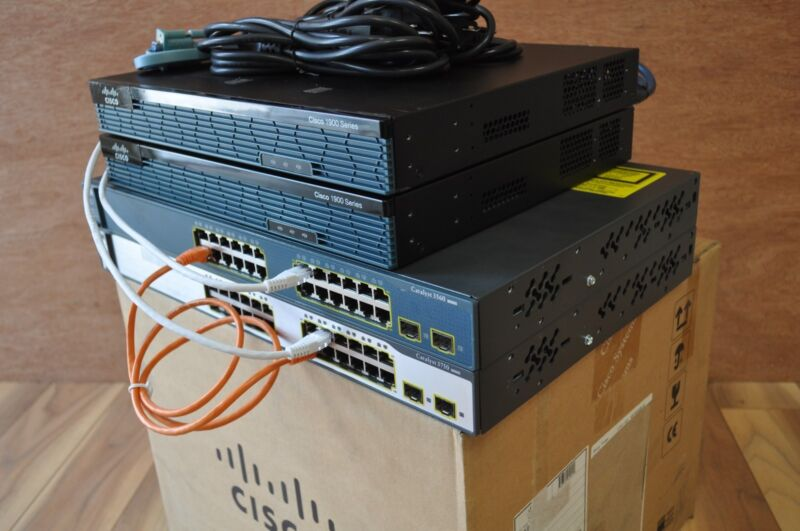 CISCO 2x 1921 IOS 15.7 CCNA CCNP CCIE R&S INE IP EXPERT R&S ADD ON LAB KIT v5.0