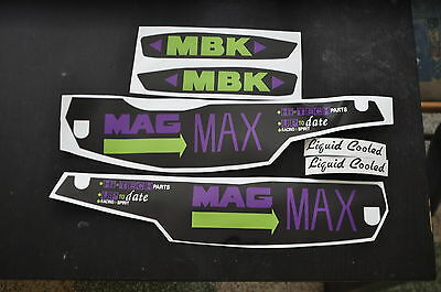 kit autocollants stickers mbk 51 mag max ph1