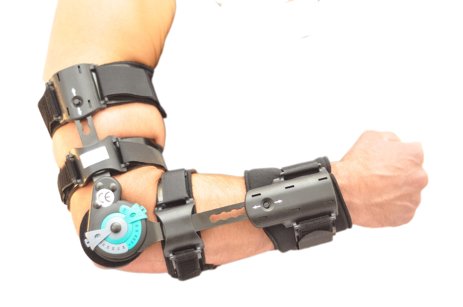 Elbow Arm Sling T Rom Hinged Brace Support Sprains Strains