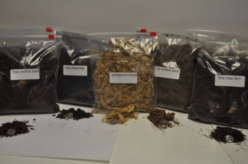Terrarium/ Vivarium substrate ingredients, original ABG Mix 7 quart bags total