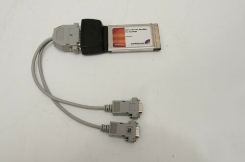 Startech.com CB2S650 16950 Serial PCMCIA CardBus Adapter (2-Port)