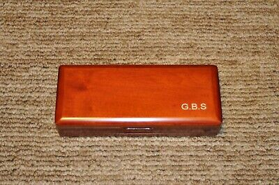 Wooden Bassoon Reed Case Hold 5 Pcs Reeds in Original Wood Color