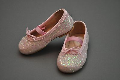 Bloch Baby Schuhe (Bloch Glitz Toddler Pink Ballet Flat Dress Shoe Size 5 US)
