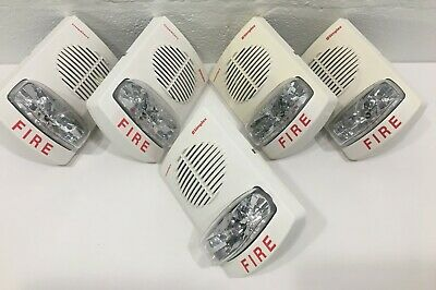 Simplex Truealert Fire Alarm Spkrstr. 4903-9360 White Wall Mount. Lot Of 5.