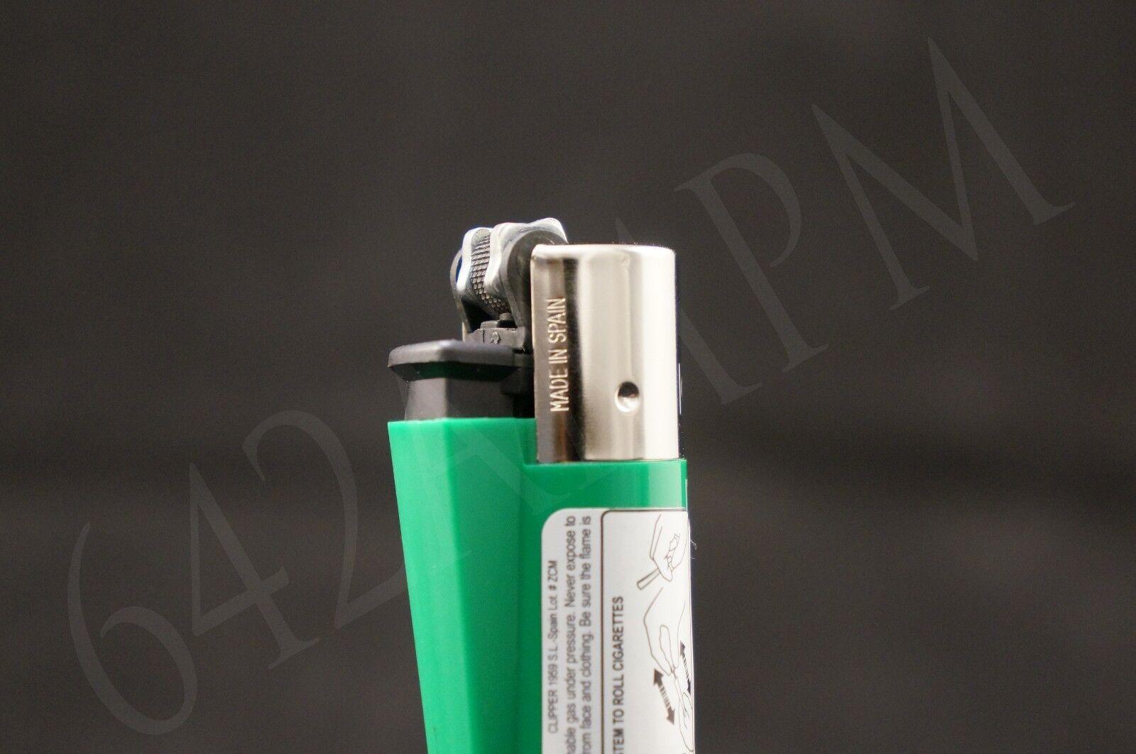4 pcs New Refillable Clipper Full Size Lighters Atari Design