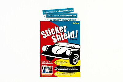 Sticker Shield   Windshield Sticker Applicator For Application Removal  Re app