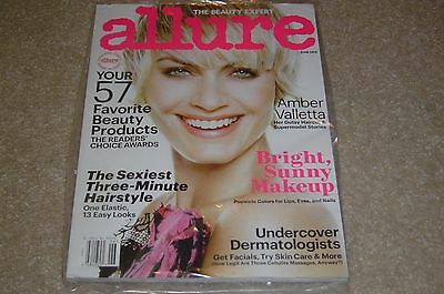 Amber Valletta   Supermodel June 2014 Allure Magazine New   Partially Sealed