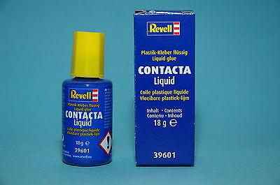 Revell 39601 Plastikkleber mit Pinsel Contacta Liquid 18g Gramm NEU