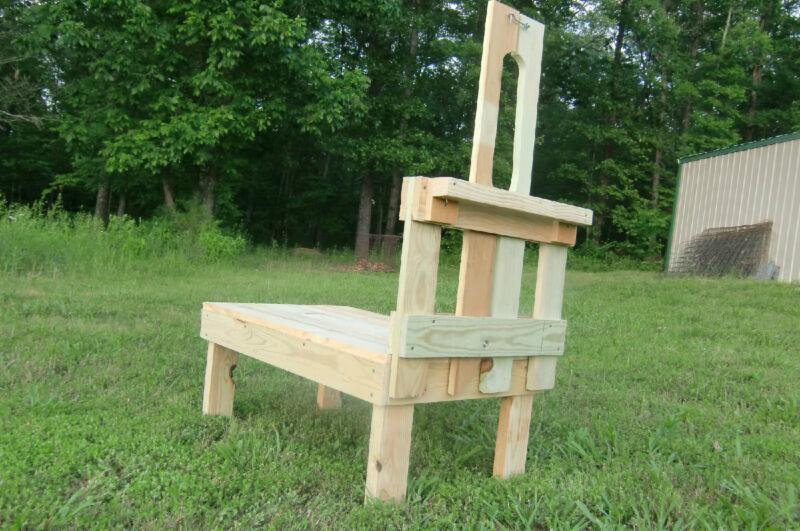 "Pygmy Decking Goatstandcom Carpenter Build Goat Milking Stand 36"" x 22"""