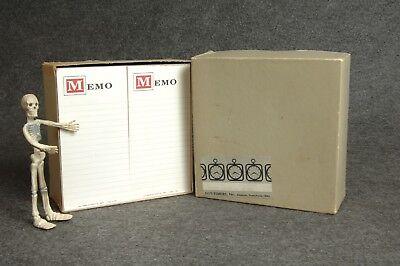 Day Timer Refill Memo Pads Shirt Pocket Box Of 30 Vintage