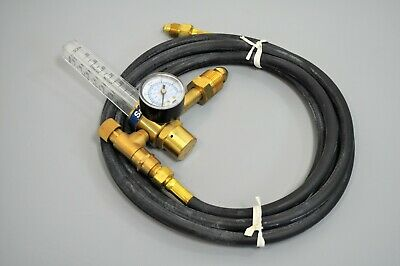 Esab Sabrecut Sc-rf-580 Cylinder Regulator Flowmeter Argon Carbon Dioxide Hose