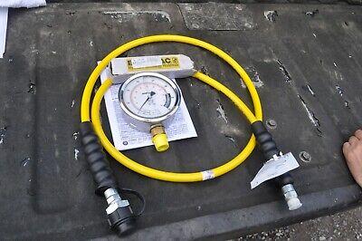 Enerpac Gp-10b Hydraulic Gauge Ga2 Hc7206 14 Hose Port