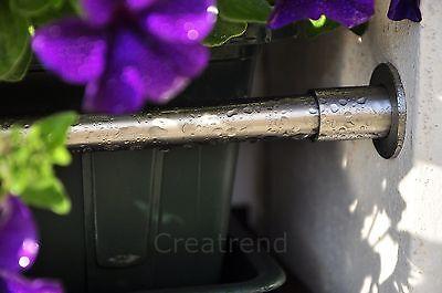 Blumenkastenhalterung Blumenkasten Halter Edelstahl für Fensterbänke ohne Bohren