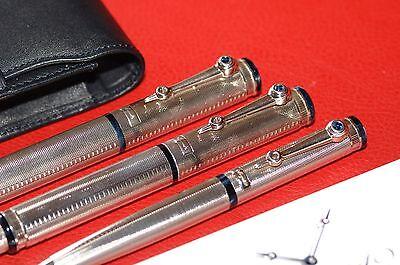 BREGUET PEN SET - Fountain Pen, Rollerball, Ballpoint/Mechanical Pencil