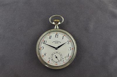 antike Taschenuhr Ankerwerk läuft. Chronometre Alina Geneve um 1900