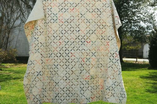 Vintage Hand Stitched Lancaster County, Pa Amish Quilt