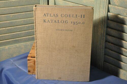 Atlas Coeli II Katalog 1950.0 Star Atlas 1959 Collectible Antique Text