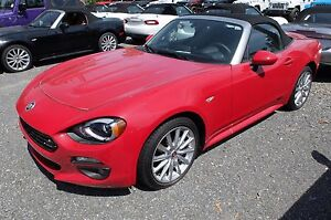 2017 Fiat 124 SPIDER, BOSE, ANGLES MORTS LUSSO, CUIR, GPS,