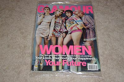 Lena Dunham Girls   Mamet February 2017 Glamour Magazine New   Partially Sealed