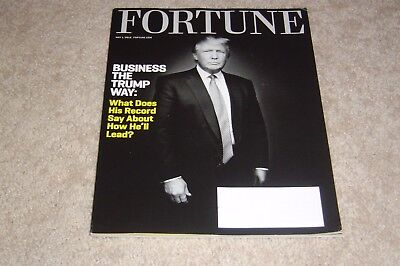 BUSINESS THE DONALD TRUMP WAY May 1 2016 FORTUNE MAGAZINE