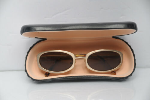 🌞 Fendi Gold Sunglasses Authentic Vintage rare Framed Italy 🌞