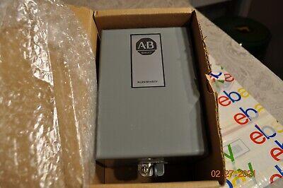 Allen Bradley 700-hn120 Nema1 Steel Enclosure Motor Starter Box Other