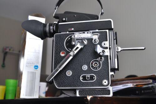 Bolex H16 Reflex- 5 camera body with a 13X finder