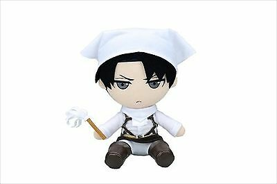Gift Attack on Titan Stuffed Series Levi Cleaning ver. Plush Doll