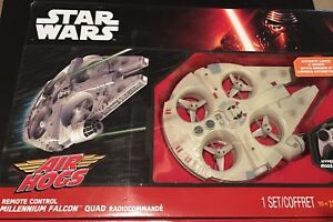 Star Wars Air Hogs Millennium Falcon indoor RC quad - used once
