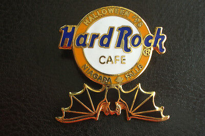 HRC Hard Rock Cafe Niagara Falls Canada Halloween 1998 Bat - Halloween Niagara Falls