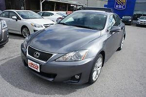 2012 Lexus IS 250 PREMIUM PKG | LEATHER | SUNROOF | CLEAN CARPRO