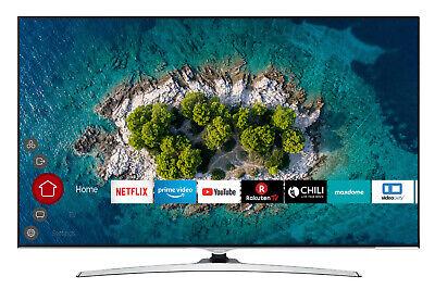 Hitachi U65L7000 Fernseher 65 Zoll 4K UHD Smart TV HDR WCG PVR Bluetooth Alexa