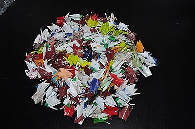 "100 ORIGAMI CRANES- 3"" PAPERS BEAUTIFUL CHIYOGAMI /MULTI COLOR & PATTERNS"