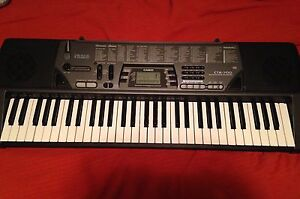 Casio CTK-700 (100 song bank keyboard) with stand