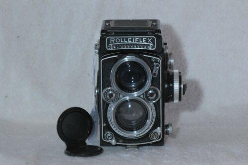 Rolleiflex 2.8E Xenotar with Cap & New Strap