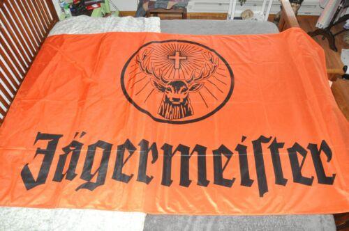 Jagermeister Flag/Banner Huge 8 x 5 Germany Mancave Homebar New in package