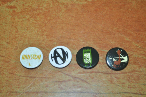 RARE NEW Set of Official Hanson Use Your Sole Buttons!